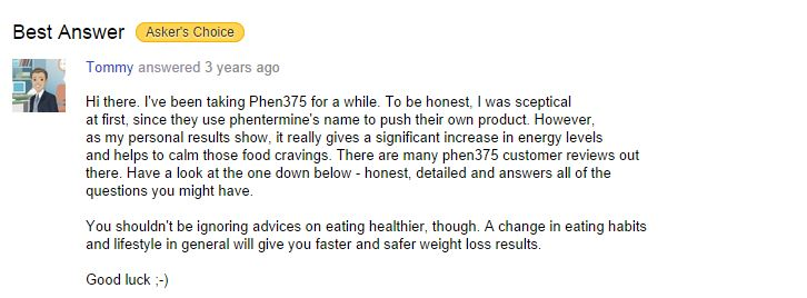 yahoo-answers-phen375-customer-feedback
