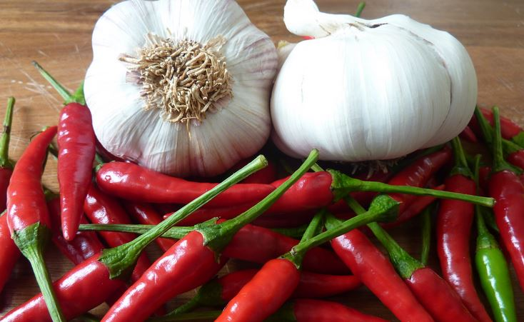 Cayenne Pepper and Garlic
