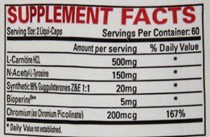 LIPO 6 STIM Free ingredients
