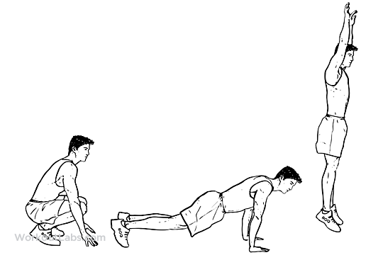 burpees-weight-loss-exercise