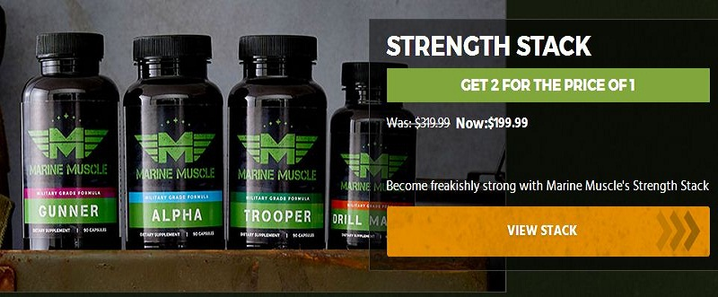 Marine Muscle Strength Products Review | Online Supplement