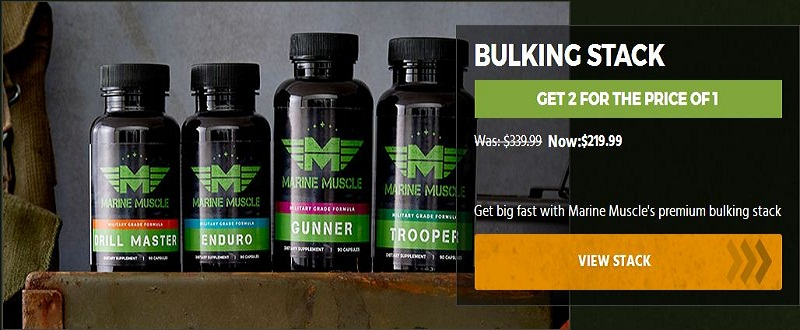Marine Muscle bulking Products