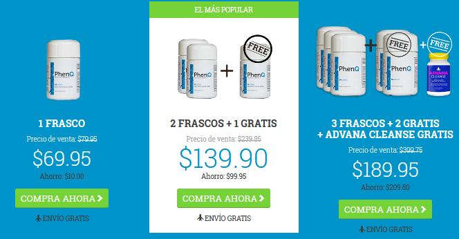phenq price spanish
